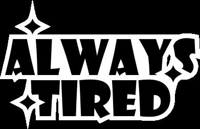 Print Plecak z przednią kieszenią Always tired - PrintSalon