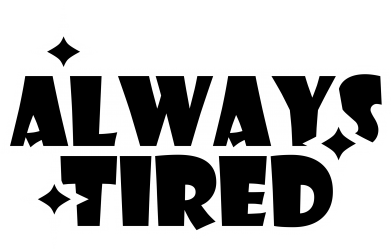 Print Męska bluza z kapturem Always tired - PrintSalon