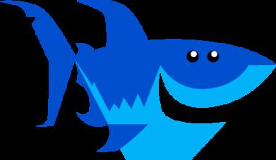 Print Bokserki męskie Shark smile - PrintSalon