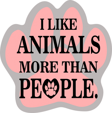 Print Baby bodysuit I like animals more than people - PrintSalon
