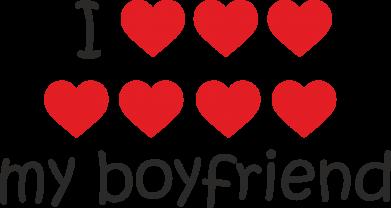 Print Etui na Xiaomi Mi6 I love my boyfriend - PrintSalon