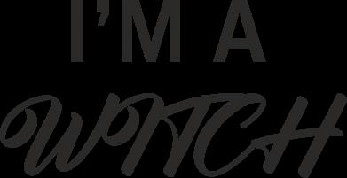 Print Etui na Xiaomi Mi6 I'm a witch - PrintSalon