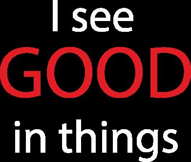 Print Plecak z przednią kieszenią I see good in things - PrintSalon