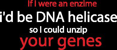 Print Koszulka Polo If I were an enzime - PrintSalon