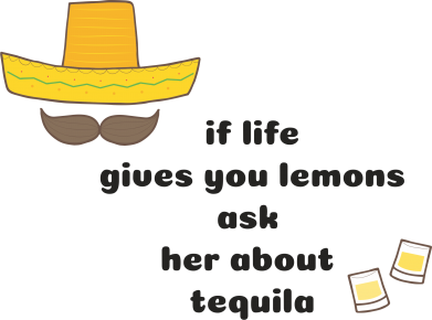 Print Etui na Xiaomi Mi6 If life gives you lemons ask her about tequila - PrintSalon