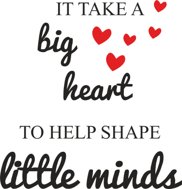 Print Etui na Xiaomi Mi6 It take a big heart to help shape little mind - PrintSalon