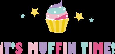 Print Plecak z przednią kieszenią It's muffin time - PrintSalon