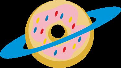 Print Etui na Xiaomi Mi6 Donut planet - PrintSalon