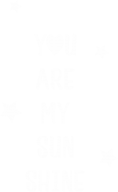 Print Męska bluza z kapturem You are my sunshine - PrintSalon