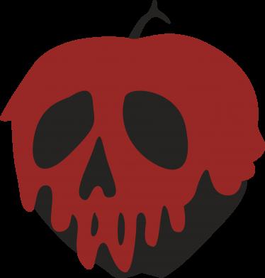 Print Notes Bloody apple - PrintSalon