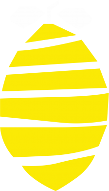 Print Bokserki męskie Lemon stripes - PrintSalon