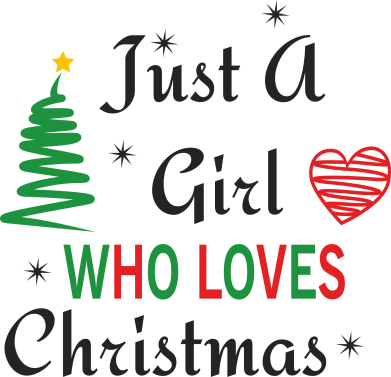Print Etui na iPhone 11 Just a girl who love Christmas - PrintSalon