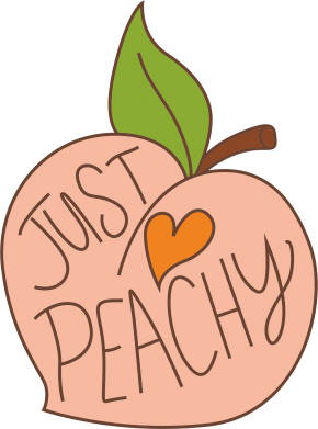 Print Bokserki męskie Just peachy - PrintSalon
