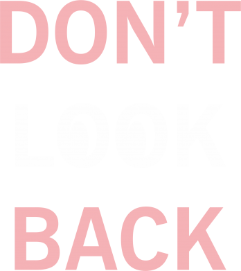 Print Bluza (raglan) Don't look back - PrintSalon