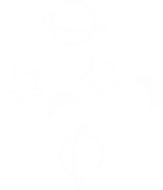 Print Notes Planets and stars - PrintSalon