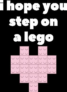 Print Bokserki męskie I hope you step on a lego - PrintSalon