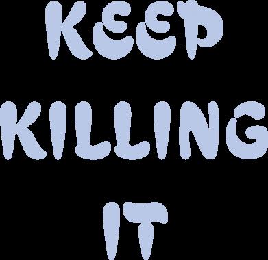 Print Etui na iPhone 11 Pro Max Keep killing it - PrintSalon