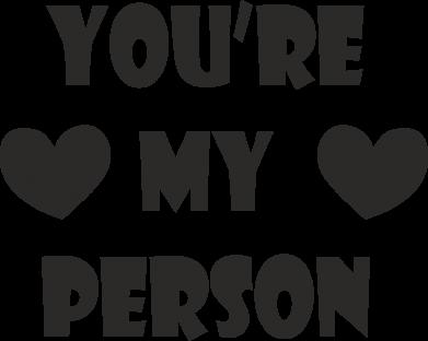 Print Etui na iPhone 11 Pro Max You're my person - PrintSalon