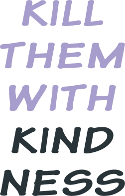 Print Etui na iPhone 11 Pro Max Kill them with kindness - PrintSalon