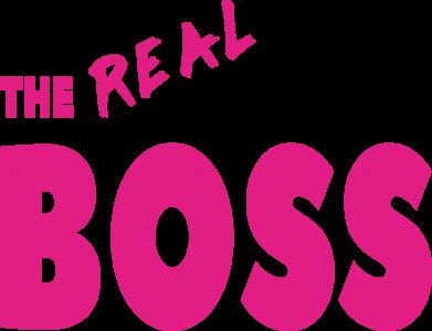 Print Plecak z przednią kieszenią The real boss - PrintSalon