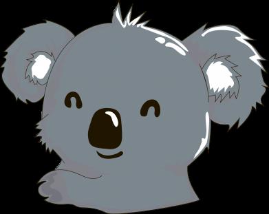 Print Męska bluza z kapturem Koala - PrintSalon