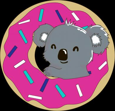 Print Damska koszulka polo Koala - PrintSalon