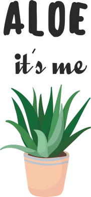 Print Mug 330ml Aloe it's me - PrintSalon