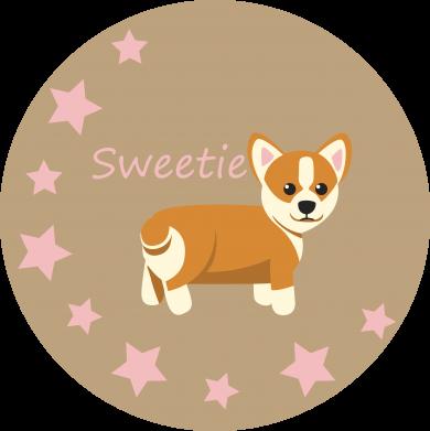 Print Czapka trucker Sweetie dog - PrintSalon