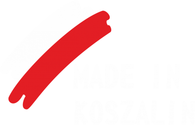 Print Męska bluza z kapturem Made in Koszalin - PrintSalon