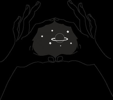 Print Etui na Xiaomi Mi6 Kosmos w rękach - PrintSalon