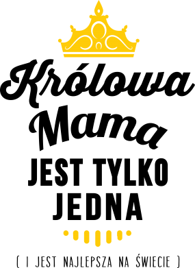 Print Kubek dwukolorowy 450ml Królowa MAMA - PrintSalon
