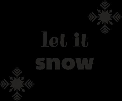 Print Etui na iPhone 11 Let it snow - PrintSalon