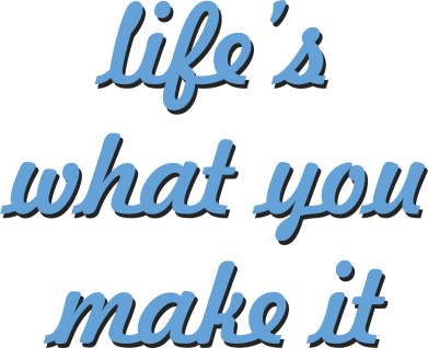 Print Etui na iPhone 11 Pro Max Life's what you make it - PrintSalon