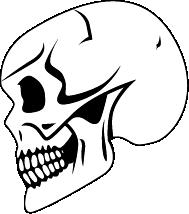 Print Bokserki męskie death - PrintSalon