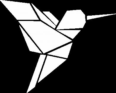Print Męska bluza z kapturem Ptak - PrintSalon