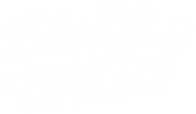 Print Bokserki męskie Black and white - PrintSalon