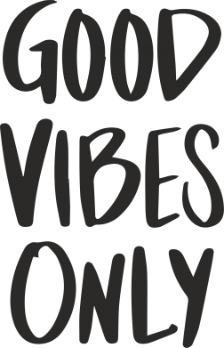 Print Baby bodysuit GOOD VIBES ONLY - PrintSalon