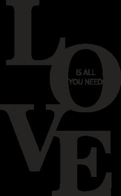 Print Etui na Xiaomi Mi6 Love is all you need - PrintSalon
