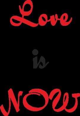 Print Mug 330ml Love is now - PrintSalon