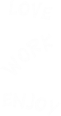 Print Plecak z przednią kieszenią Love. Work. Enjoy - PrintSalon