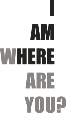 Print Mug 330ml I am where are you - PrintSalon