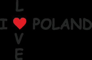 Print Etui na Xiaomi Redmi 7A I love Poland crossword - PrintSalon