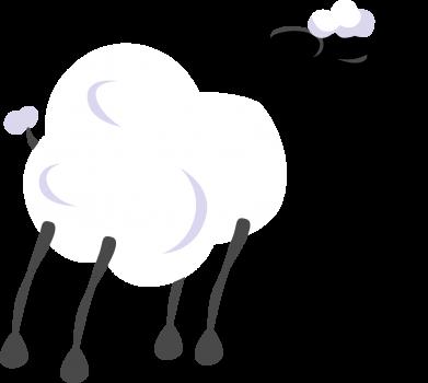 Print Bokserki męskie Sheep - PrintSalon