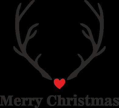 Print Etui na iPhone 11 Horn, Merry Christmas - PrintSalon