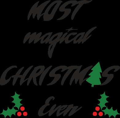Print Etui na iPhone 11 Most magical Christmas ever - PrintSalon