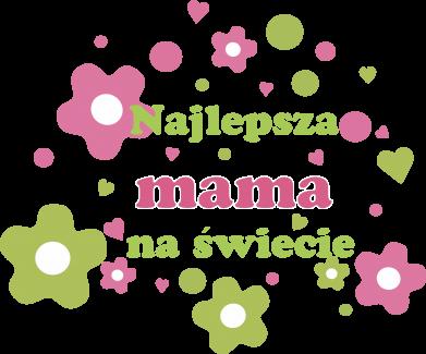 Print Koszulka Najlepsza mama na świecie - PrintSalon