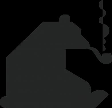 Print Etui na Xiaomi Mi6 Niedźwiedź z fajką - PrintSalon