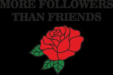 Print Etui na Xiaomi Mi6 More followers than friends - PrintSalon
