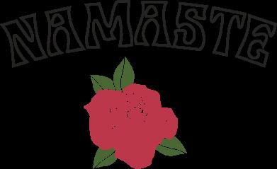 Print Mug 330ml Namaste rose - PrintSalon