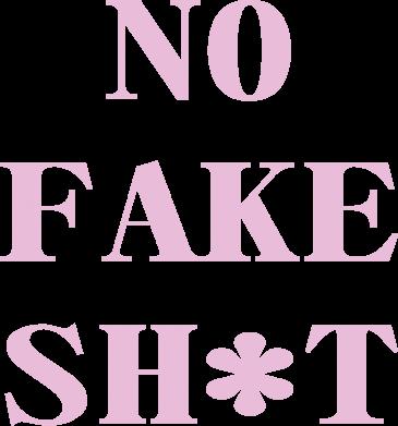 Print Plecak z przednią kieszenią No fake shit - PrintSalon